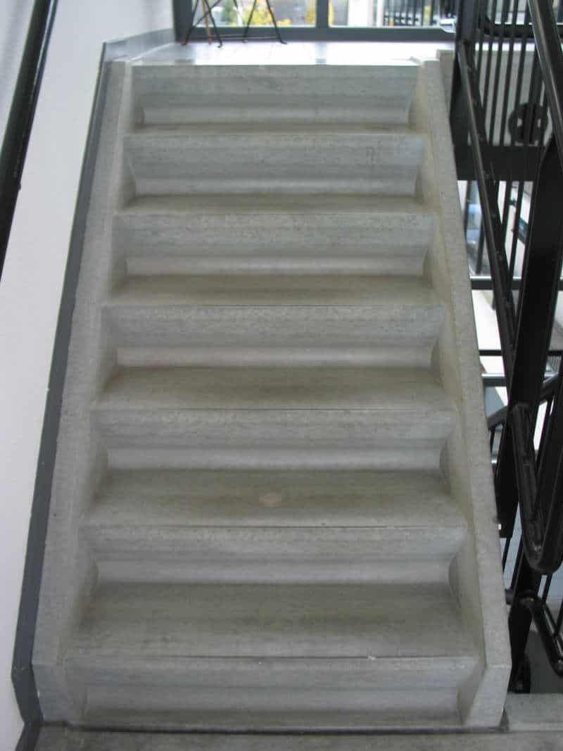 antislip maken betonnen trap