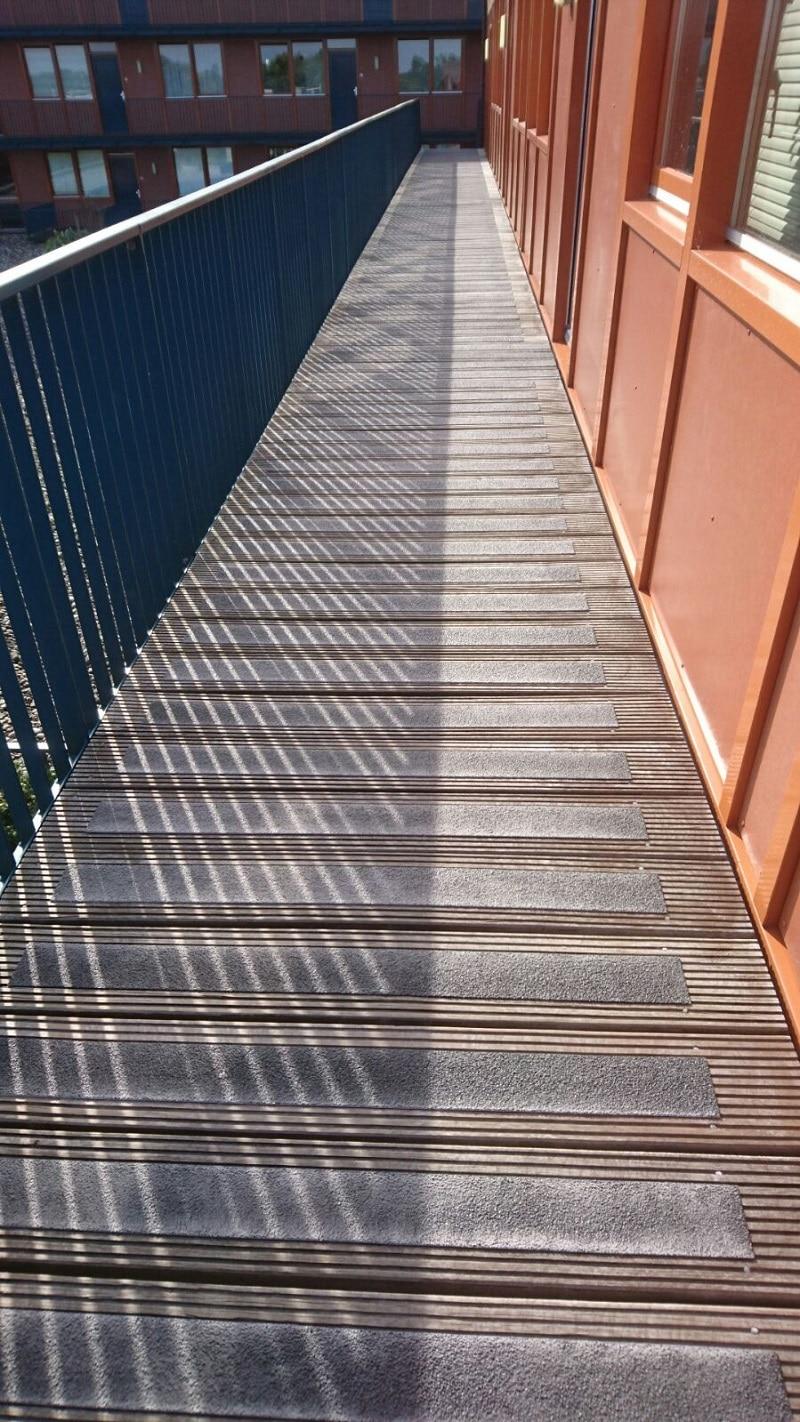 anti slip maken houten vloeren
