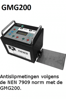 gmg200 antislipmetingen